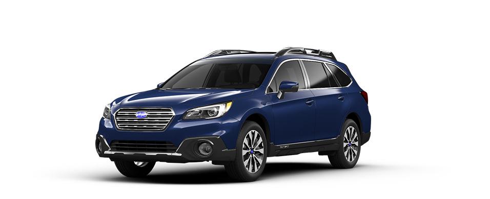 Subaru outback blue