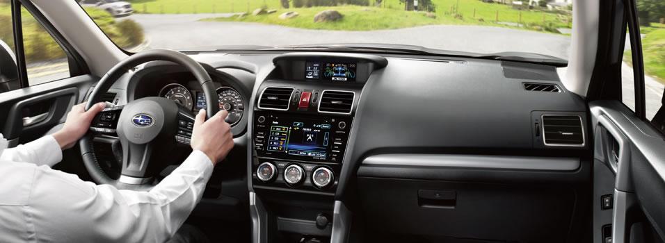 Interior - 2016 Forester - Subaru Canada
