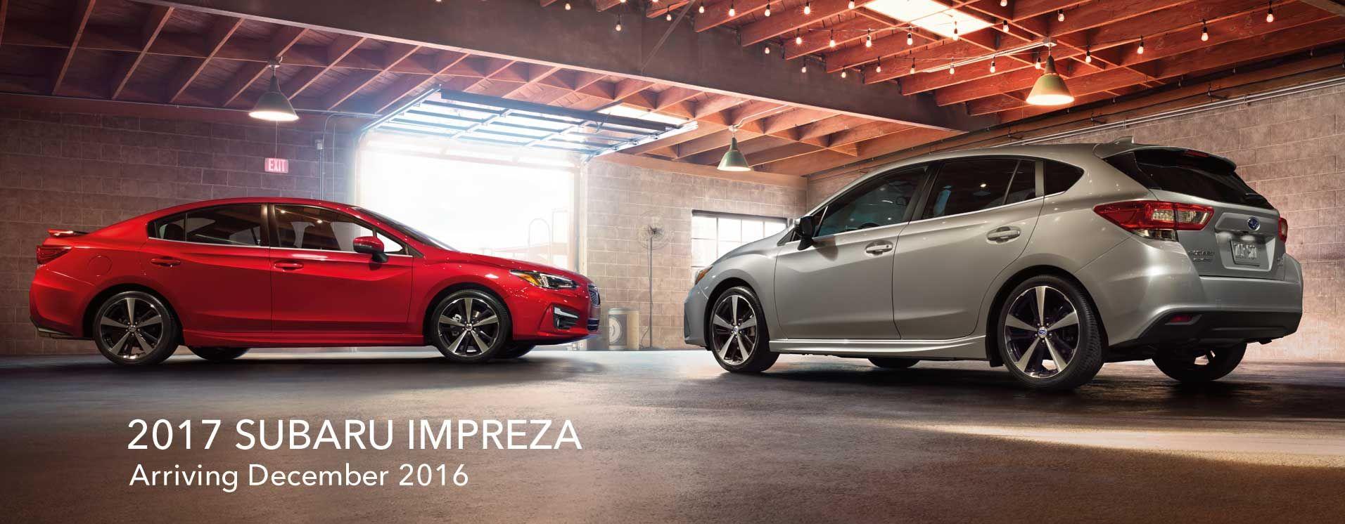 Subaru impreza 2017 hatch