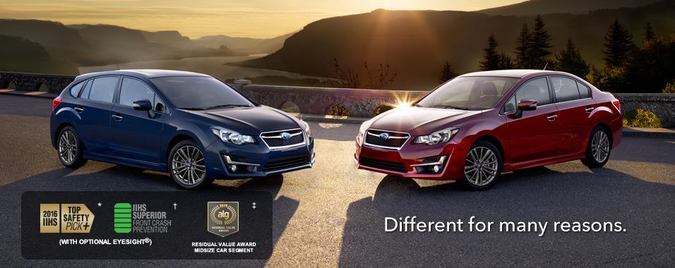 Subaru 2016 impreza