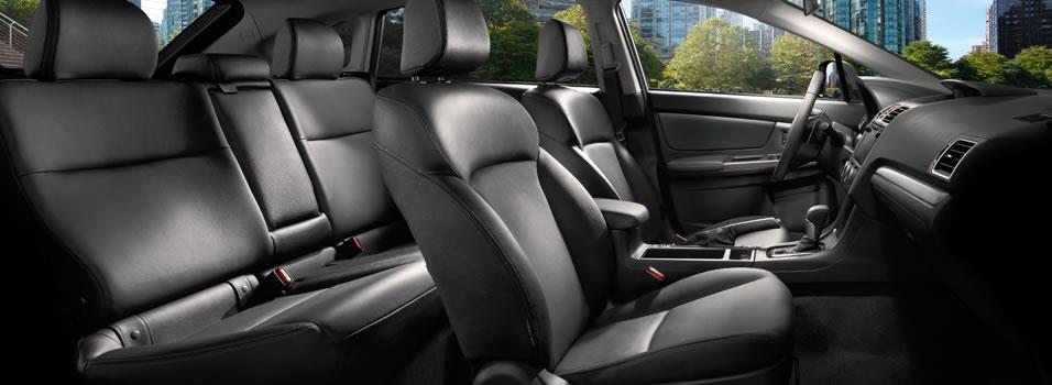 Interior 2016 Impreza Subaru Canada