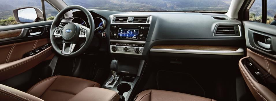 Interior Of Subaru Outback 2017