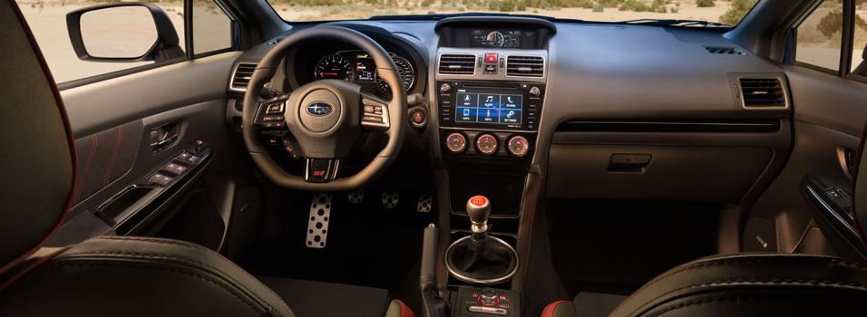 Interior - 2018 WRX & WRX STI - Subaru Canada
