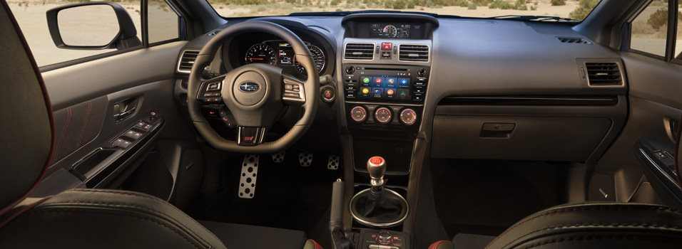 Interior 2019 Wrx Wrx Sti Subaru Canada