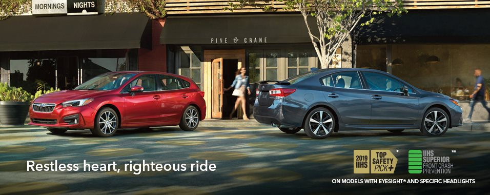 Introduction 2019 Impreza Subaru Canada