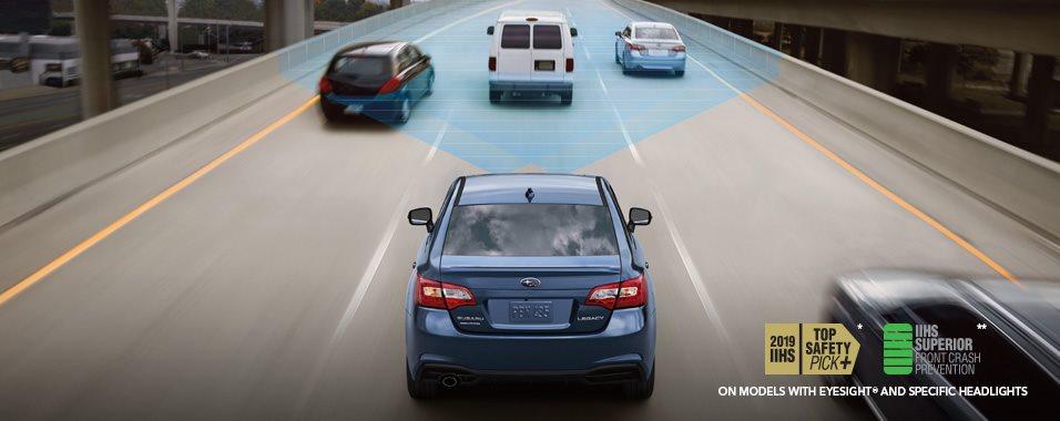 Safety - 2019 Legacy - Subaru Canada