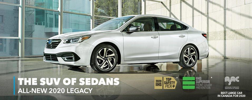 Introduction 2020 Legacy Subaru Canada