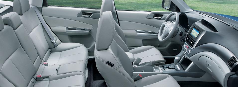 Int rieur forester 2013 subaru canada for Subaru interieur