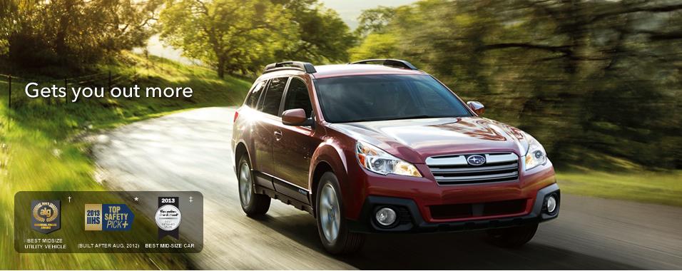 Introduction 2013 Outback Subaru Canada
