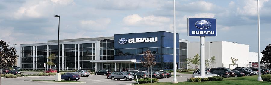 Contact Us - Subaru Canada Inc. - Subaru Canada