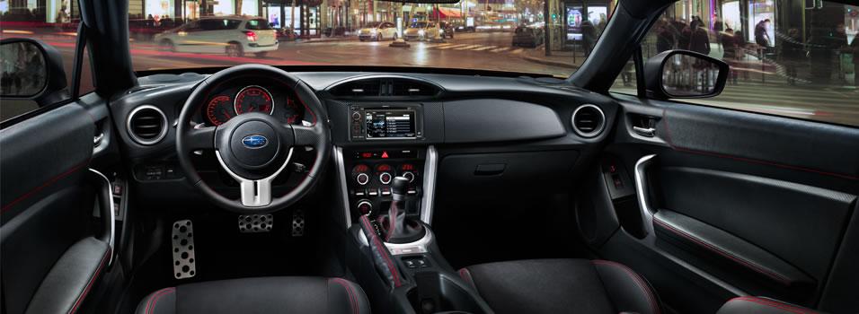 Interior 2016 Brz Subaru Canada