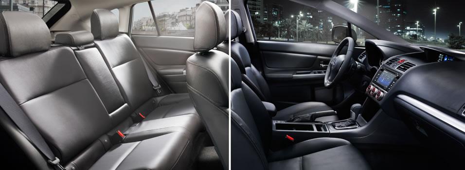 Interior 2015 crosstrek subaru canada for Subaru interieur