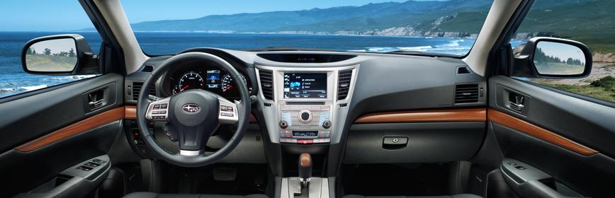 Interior 2013 Outback Subaru Canada
