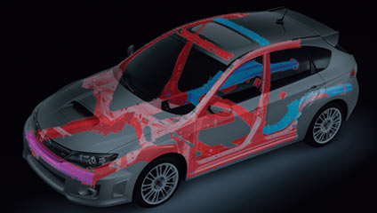 WRXSTI 2014 Advanced Ring-shaped Reinforcement Frame