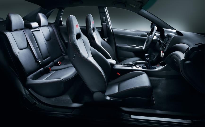 2014 Subaru WRX STI Tsurugi Edition Special Features