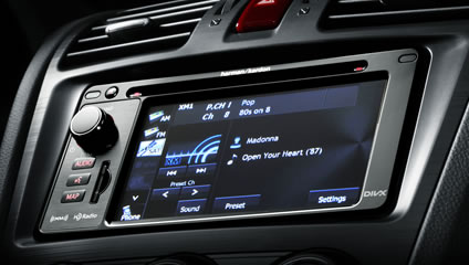 Interior 2014 Forester Subaru Canada