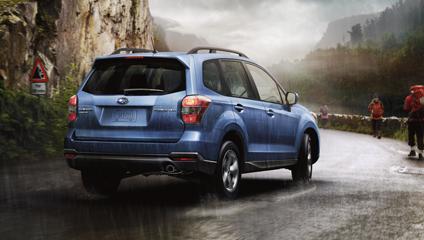 Subaru Forester 2014 Braking Systems
