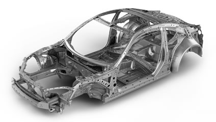 Subaru 2015 BRZ Cutting-edge chassis