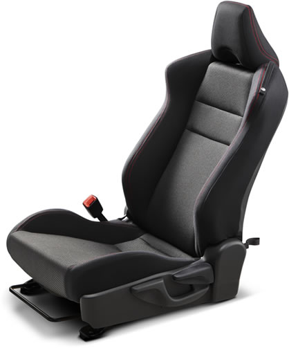 Subaru 2014 BRZ Low-Profile Leather/Alcantara® Sport Seats