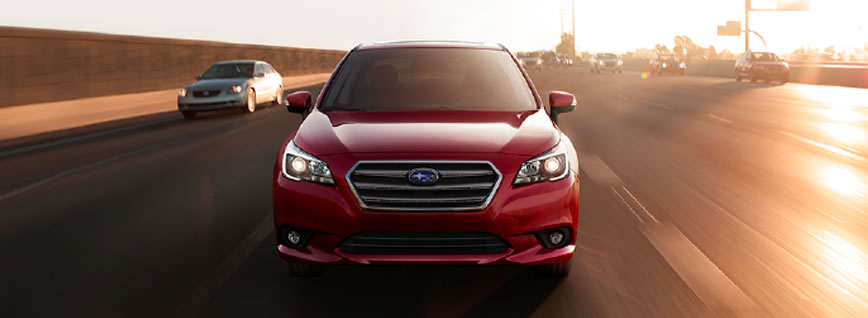 2015 Subaru Legacy - 360° degrees of safety