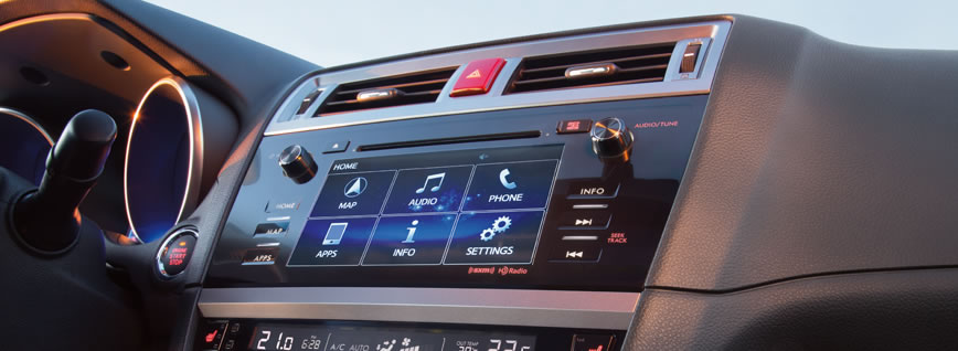 2015 Subaru Legacy - Unexpected infotainment, added excitement