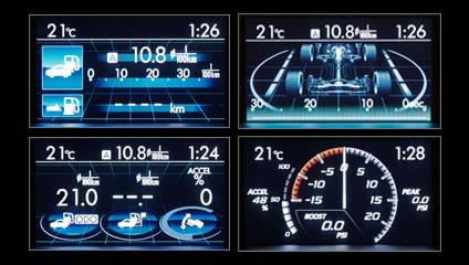 subaru wrx 2016 interior. 2016 wrx u0026 sti informative multifunction lcd colour display subaru wrx interior