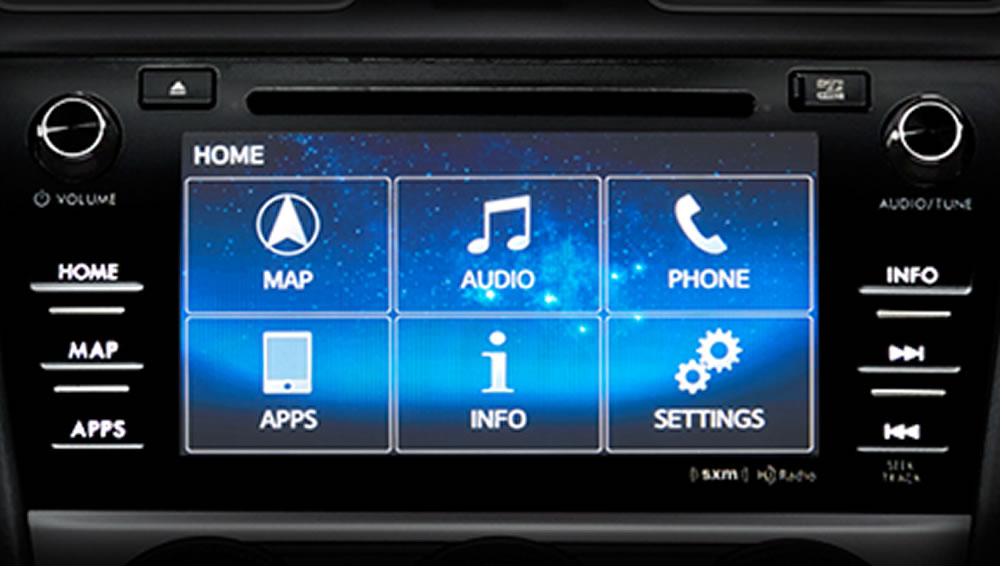 2018 Subaru Forester 7-inch Infotainment System with Navigation
