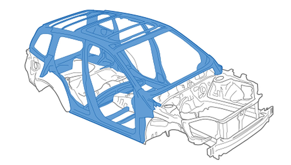 2017 Subaru Forester Advanced Ring-shaped Reinforcement Frame