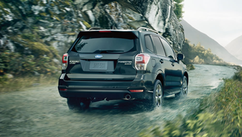 2017 Subaru Forester Braking Systems