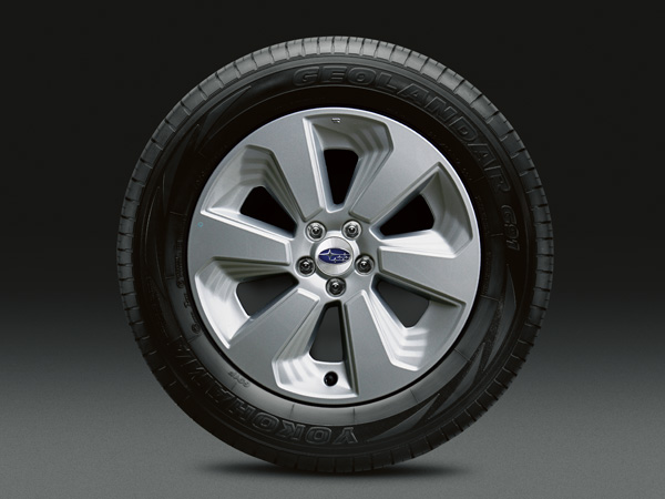 2017 Subaru Forester 17-inch Aluminum Alloy Wheels