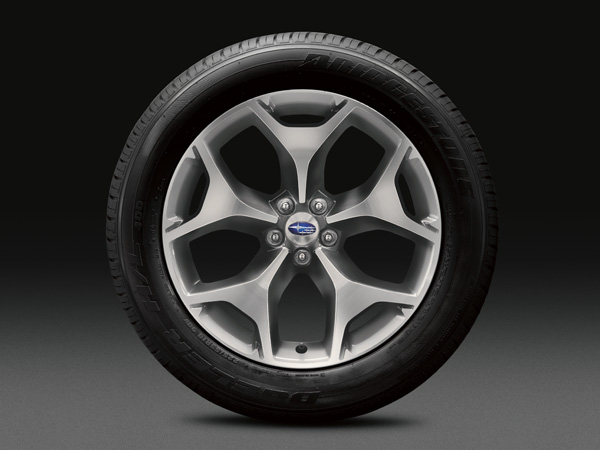 2017 Subaru Forester 18-inch Aluminum Alloy Wheels (High-relief Design)