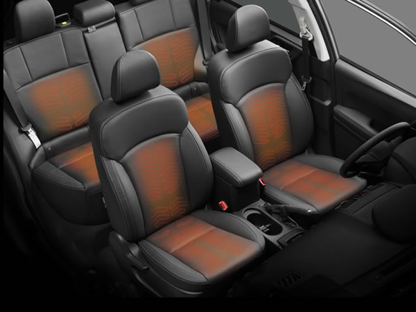 2018 Subaru Forester Heated Rear Seats