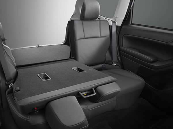 2018 Subaru Forester 60/40-split Flat-folding Rear Seats