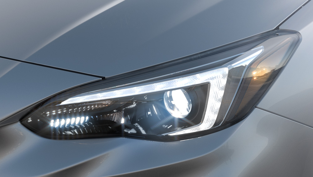 2017 Subaru Impreza Auto On/Off Headlights