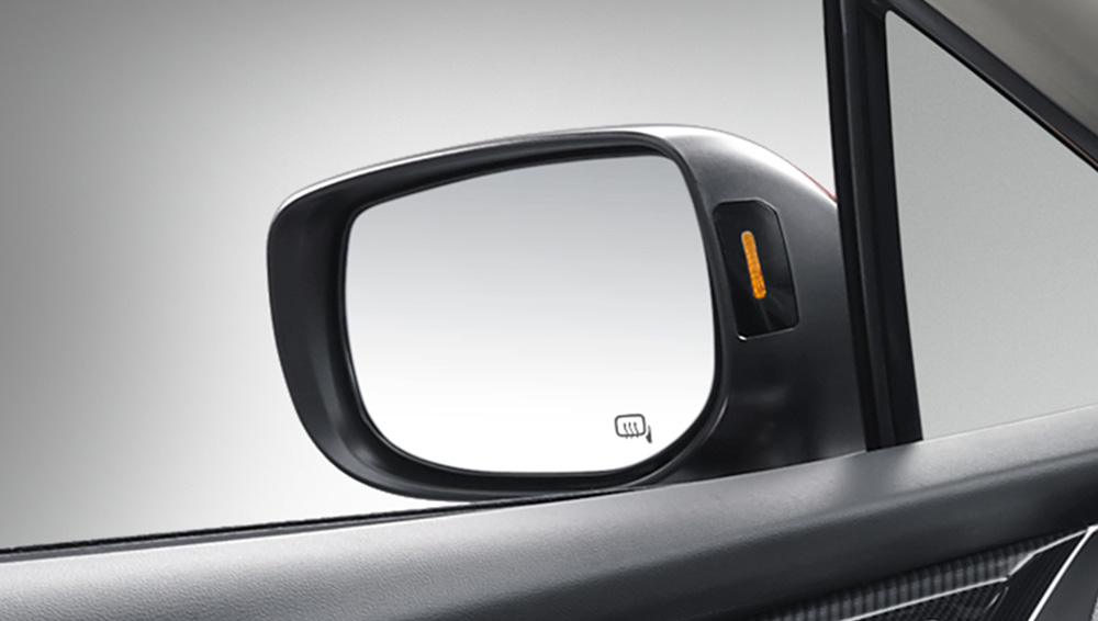 2017 Subaru Impreza Power-adjustable Heated Mirrors