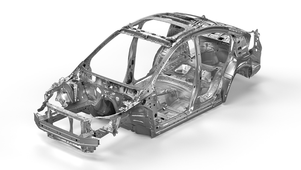 2017 Subaru Impreza Advanced Ring-shaped Reinforcement Frame