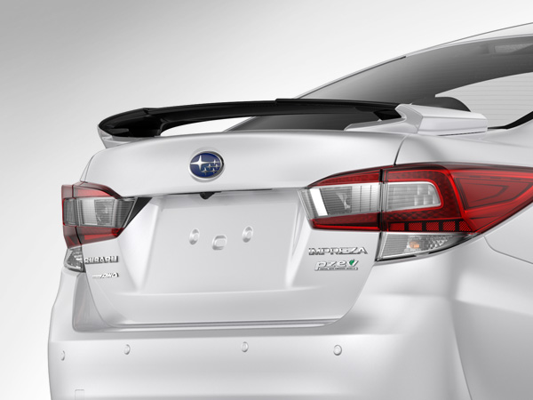 2017 Subaru Trunk Mounted Rear Wing Spoiler (4-door)