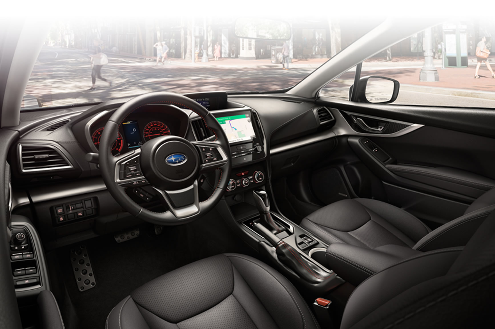 Attractive 2017 Impreza Interior