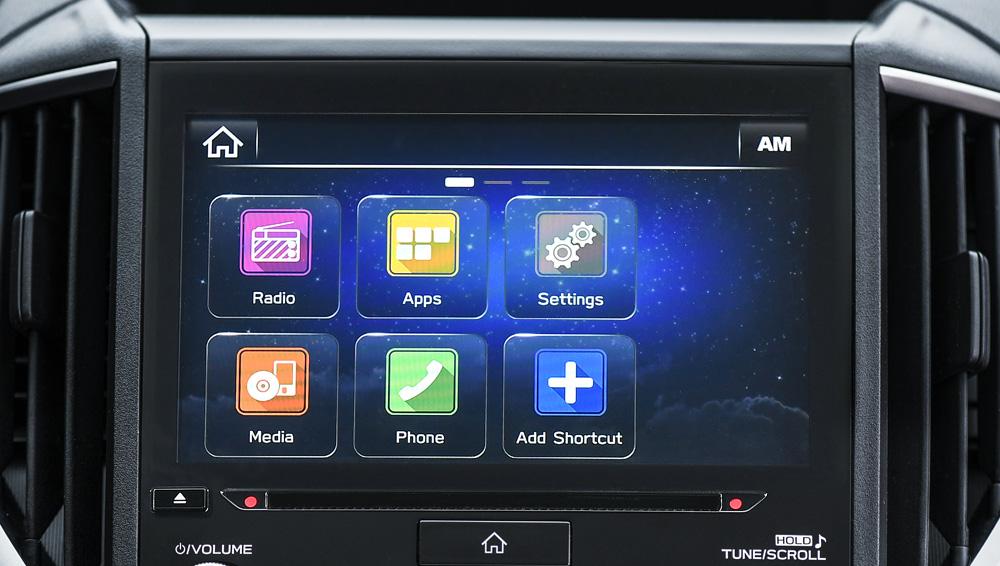 Interior 2018 Impreza Subaru Canada