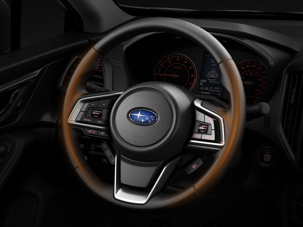 2018 Subaru Impreza Heated Steering Wheel