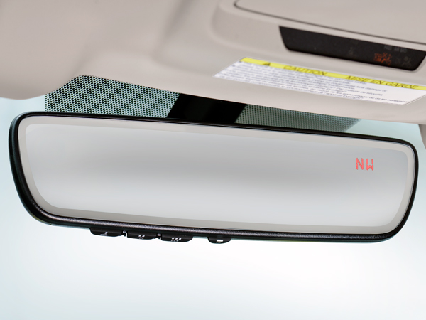 2018 Subaru Legacy Auto-dimming Rearview Mirror with Homelink<sup>®</sup> &amp; Compass