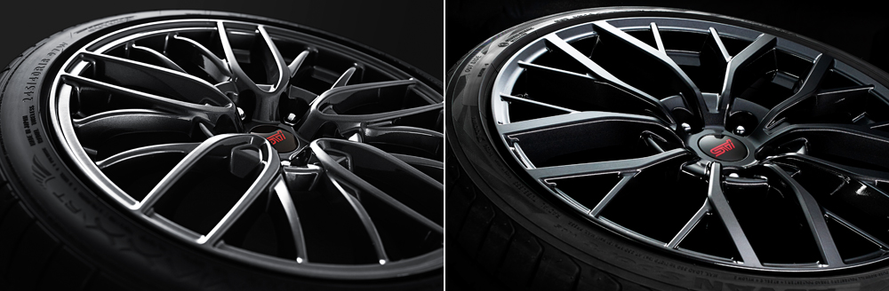 2018 Subaru WRX and WRX STI Lightweight Aluminum Alloy Wheels