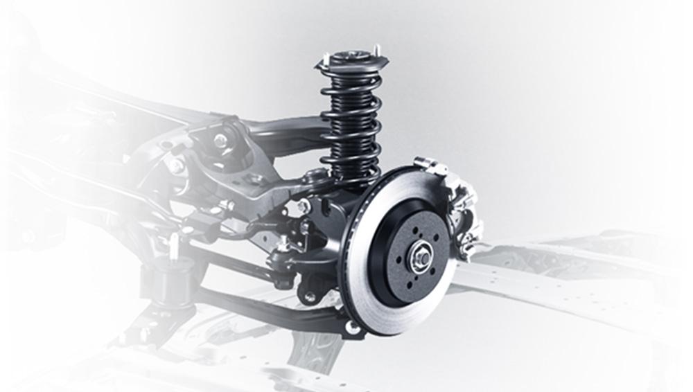 2018 Subaru Crosstrek Rear Suspension