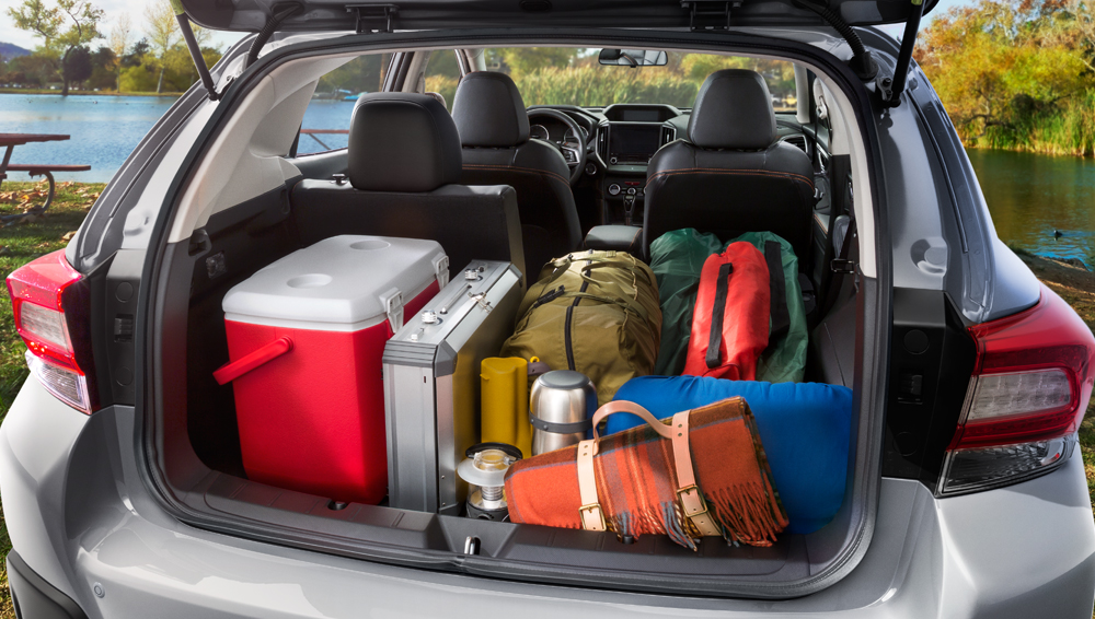 2018 Subaru Crosstrek Reengineered cargo area
