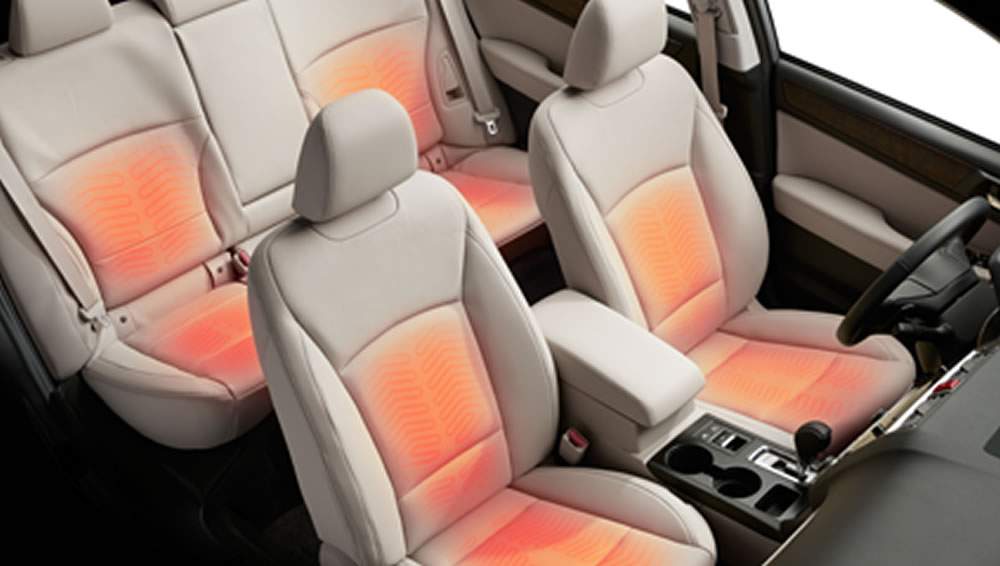 2018 Subaru Outback Heated Front and Rear Seats