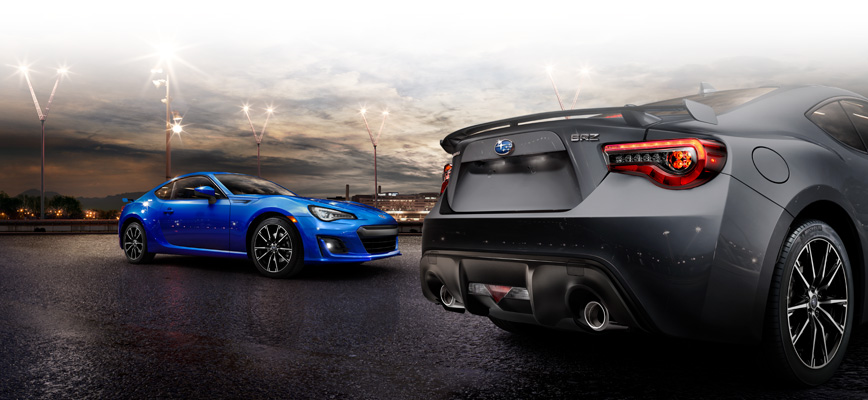 Subaru BRZ produces the lowest possible centre of gravity.