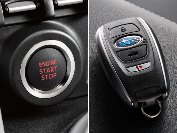2020 Subaru BRZ Keyless Access & Push-button Start