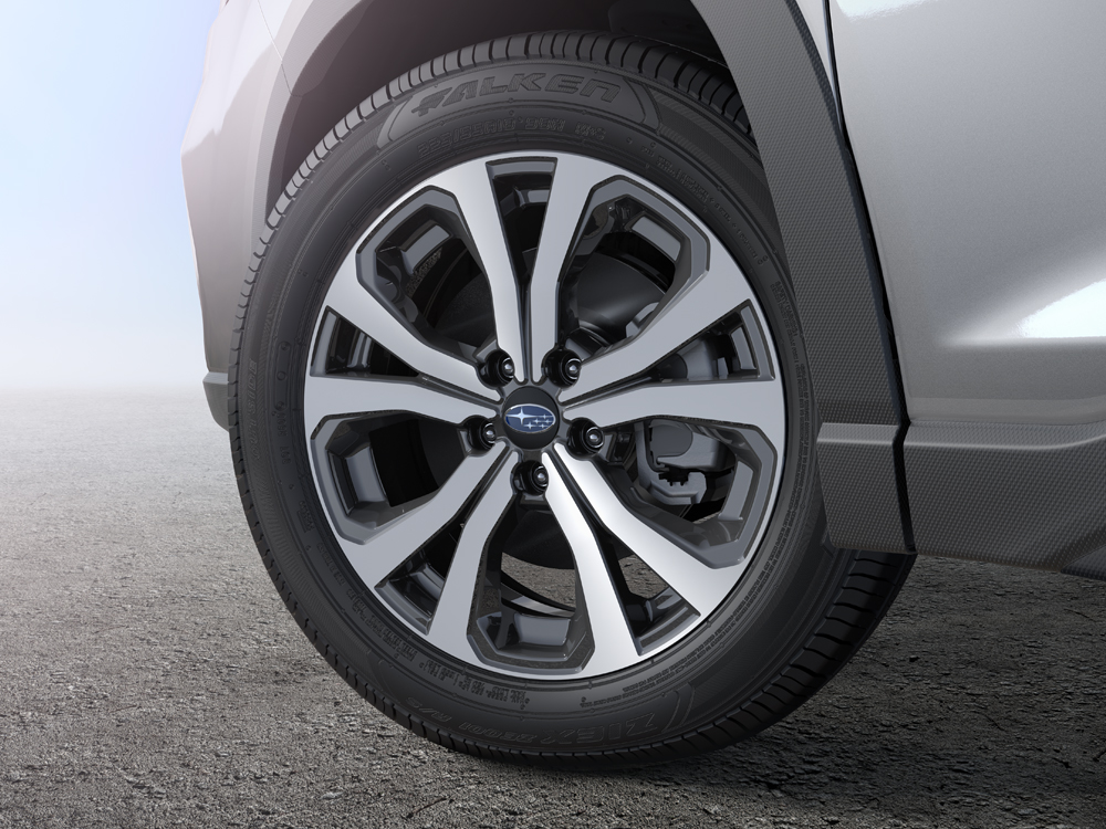 2019 Subaru Forester 18-inch 10-spoke Alloy Wheels with Machined Finish
