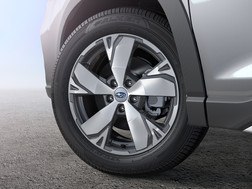 2019 Subaru Forester 18-inch Aluminum Alloy Wheels (High-relief Design)