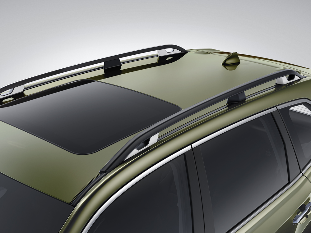 2019 Subaru Forester Raised-profile Roof Rails with Tie-downs